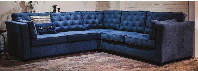 landhausmoebel victors home polstermoebel polstersofa blau designersofa polstersessel manon. Black Bedroom Furniture Sets. Home Design Ideas