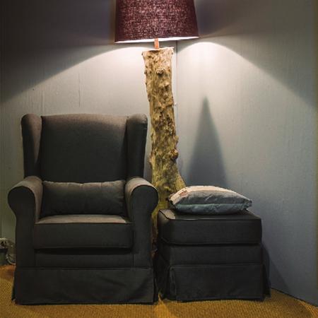 Upholstered Armchair Olaf