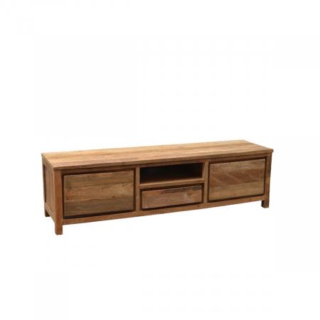 landhausmoebel victors home teakholzmoebel fernsehboard teakmoebel teakkommode boston 180. Black Bedroom Furniture Sets. Home Design Ideas