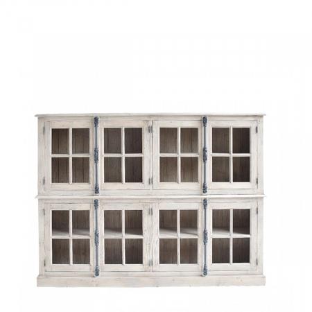 Charming Glasvitrine Landhausmoebel Muenchen Vitrine V2 0744