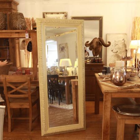 Elegant Wandspiegel Landhausmoebel Muenchen Interiors Creme
