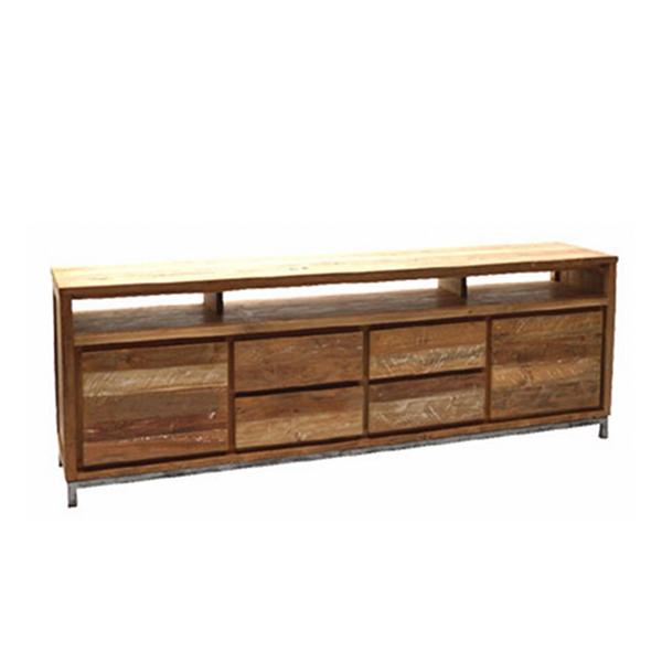 landhausmoebel victors home teakholzmoebel fernsehboard teakmoebel teakkommode boston 220. Black Bedroom Furniture Sets. Home Design Ideas